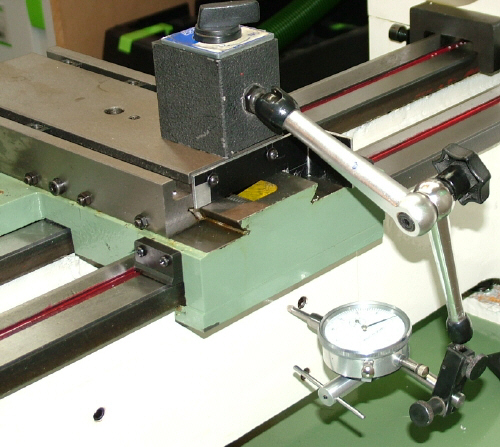 Dial Indicator Mounting In Collet : Project installing dros on dro pros c lathe